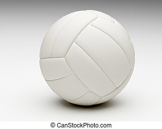 volley ball - rendering of classic volley ball