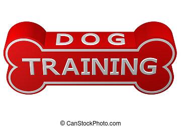 rendering., training., 犬, concept:, 3d