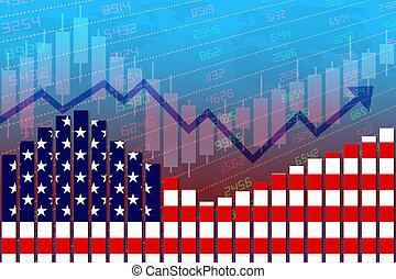 rendimento, economia, secondo, crisi, normale, improves, stati, unito