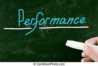rendimiento, concepto