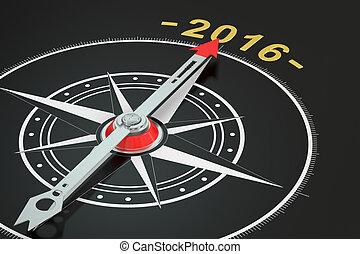 rendre, compas, année, conceptuel, 2016, 3d