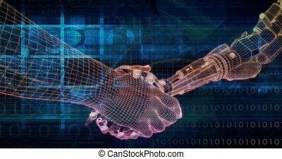 rendszer, technológia, emelvény, hálózat, ai, integráció