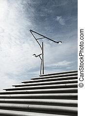 Renewable energy concept, alternative energy source....