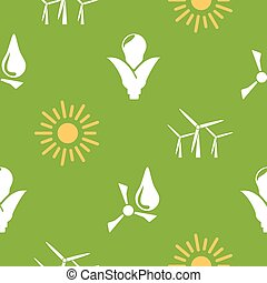 Renewable energy pattern