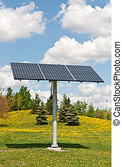 Renewable Energy - Photovoltaic Solar Panel Array