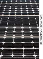 Renewable energy: solar panels