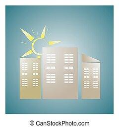 renewable energy source icons