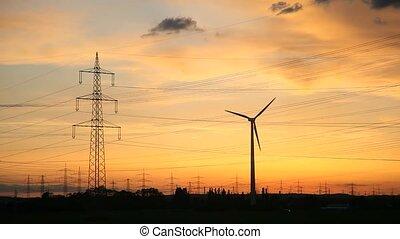 renewable energy - video footage of renewable energy