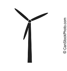 Renewable energy theme design icon, vector illustration. -...