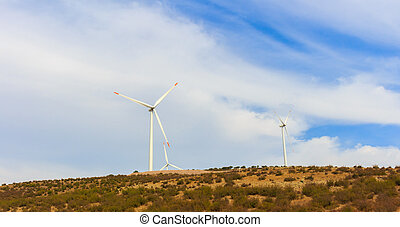 Renewable energy wind vane. - Alternative energy wind vane....