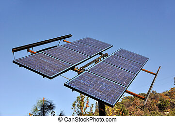 Renewable Solar Power Energy Panel
