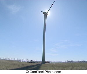 Renewable wind energy.