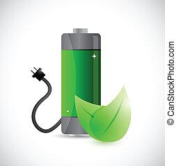 renewal energy concept illustration design