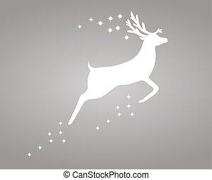 renna, stelle