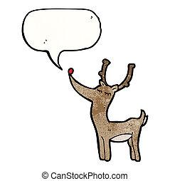 renne, dessin animé