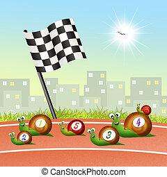 rennen, geschwindigkeit