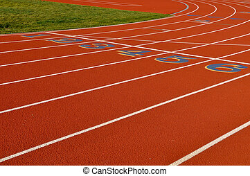 rennende , achtergrond, hardloop wedstrijd