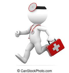 rennende , arts