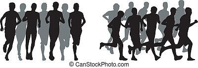 rennende