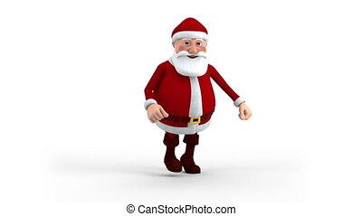 rennender,  Claus,  santa