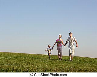 rennender , familie