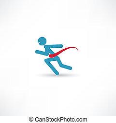rennender , schnell