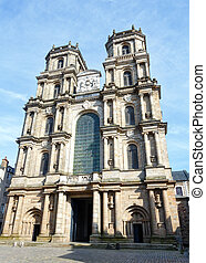 Rennes Cathedral, France. - Cathedral of Saint Peter or...