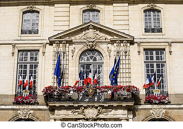 Rennes (Ille-et-Vilaine, Brittany, France) - Exterior of the...