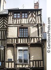 Rennes (Ille-et-Vilaine, Brittany, France) - Old...