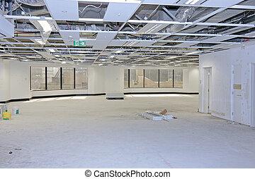 renovación, piso