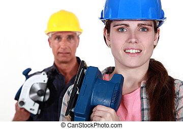 renovate, casa, pronto, filha, pai