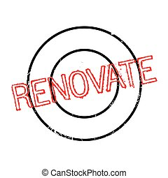renovate rubber stamp