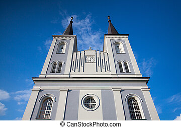 Renovated church in Vanovice