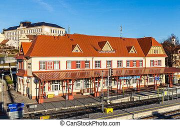 Railway Station - Uhersky Brod, Czech Republic - Renovated ...