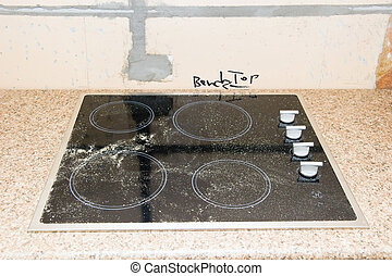 Renovation - Kitchen Cooktop - A kitchen cooktop just...