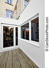 Renovation of a extension