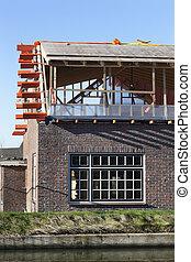 Renovation of a house