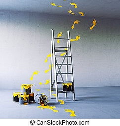 renovering, målning