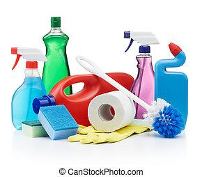 rensning, produkter
