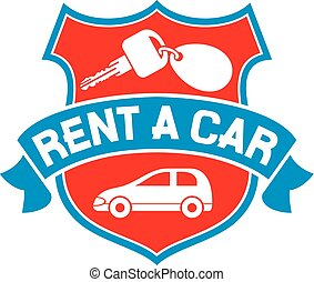 rent a car symbol