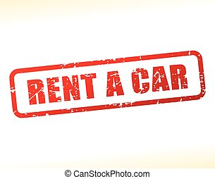 rent a car text buffered