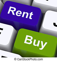 Rent And Buy Keys Showing House And Home - Rent And Buy Keys...