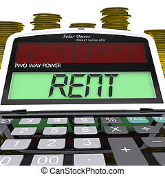 Rent Calculator Means Payments To Landlord Or Property...