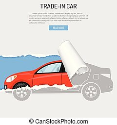 Rent Trade-In Buying Car Banner