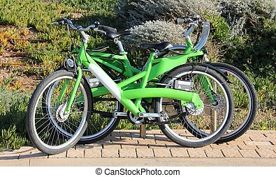 Rental Bikes at the Beach