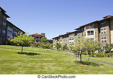 Rental Housing - The residential complex is designed for ...