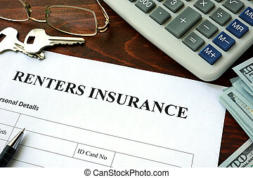 Renters insurance form