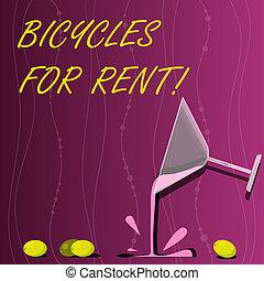 rents, foto, bicicletas, períodos, el verter, empresa /...