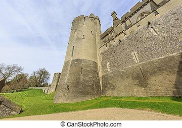 repère, château, arundel, autour de, historique