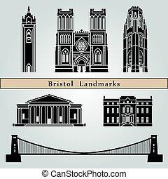 repères, bristol, monuments